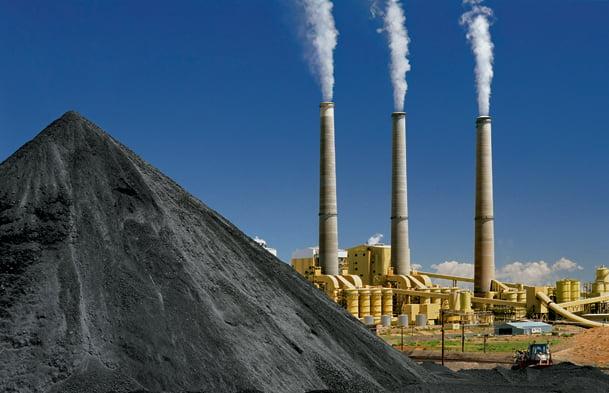 centrala carbune combustibili fosili