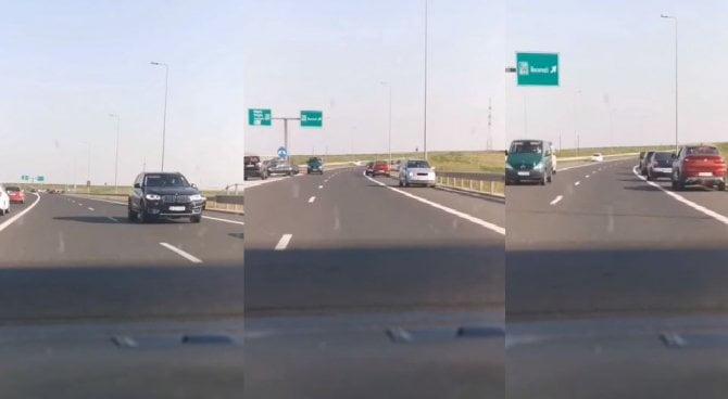 contrasens autostrada soarelui