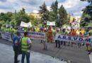 VIDEO PROTEST Lucrătorii portuari RESPING desființarea ARSVOM! Cartel Alfa solicită DEMISIA ministrului Drulă