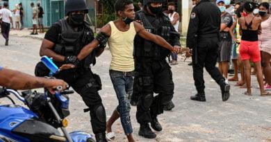 protest cuba