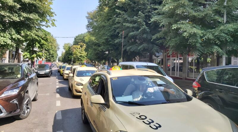 protest taxi 3