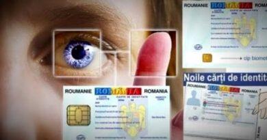 buletin cu cip biometric