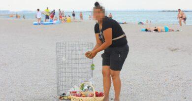 comert ambulant porumb plaja