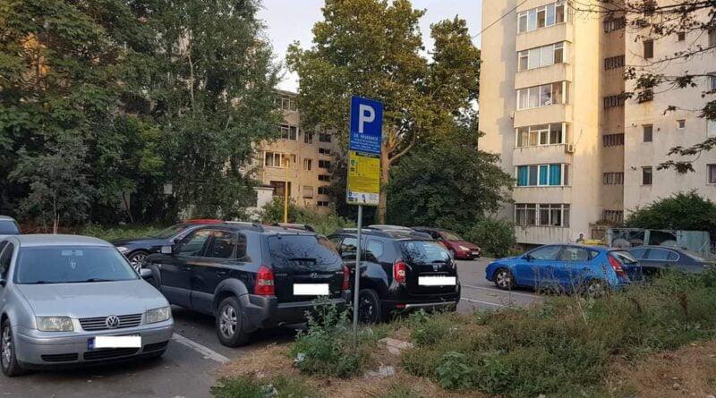 panou sms parcare parcari