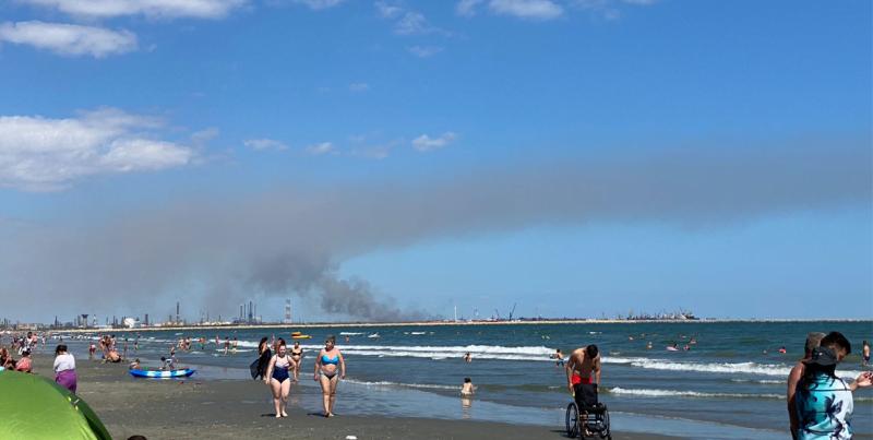 incendiu litoral midia corbu